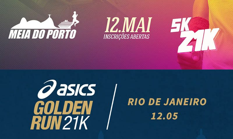 Asics Golden Run e Meia do Porto